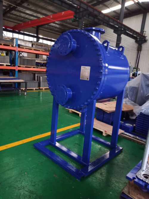 Natural gas cooling liquefied plate and shell heat exchanger, Qingdao Ruipute preferred!