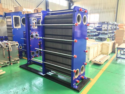 Difficulties in the application of plate heat exchangers in the steel industry