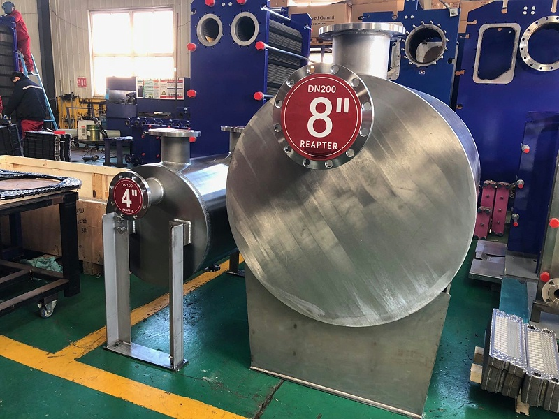 Qingdao Ruipute tell you the characteristics of stainless steel plate shell heat exchanger