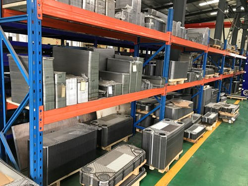 Refinery chemical plate heat exchanger,