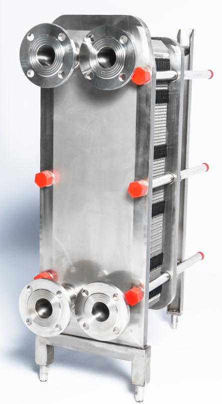 The conditions that a good juice cooling plate heat exchanger should have