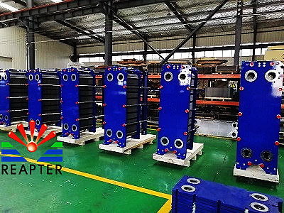 The principle of plate heat exchanger of HVAC