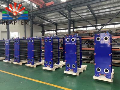 Application of plate heat exchanger in sulfuric acid cooling process