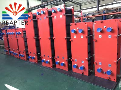 The solutions of plate heat exchanger liquid leakage