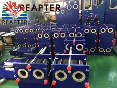 What's the role of plate heat exchanger central air conditioning