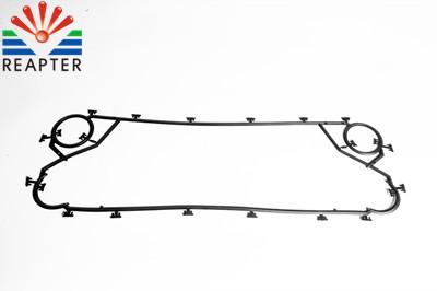 Application of sealing rubber gasket in plate heat exchanger
