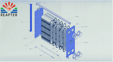 Operating parameters of plate heat exchanger