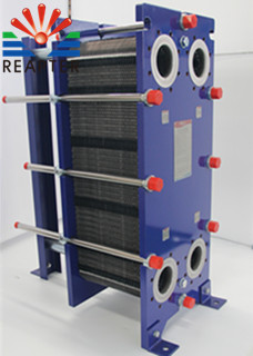 The temperature difference design of the heat exchanger