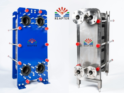 GEA free flow plate heat exchanger