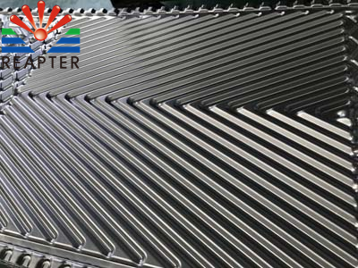 How to design the plate angle of a plate heat exchanger