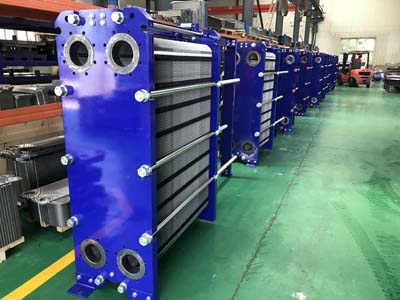 Application of plate heat exchangers