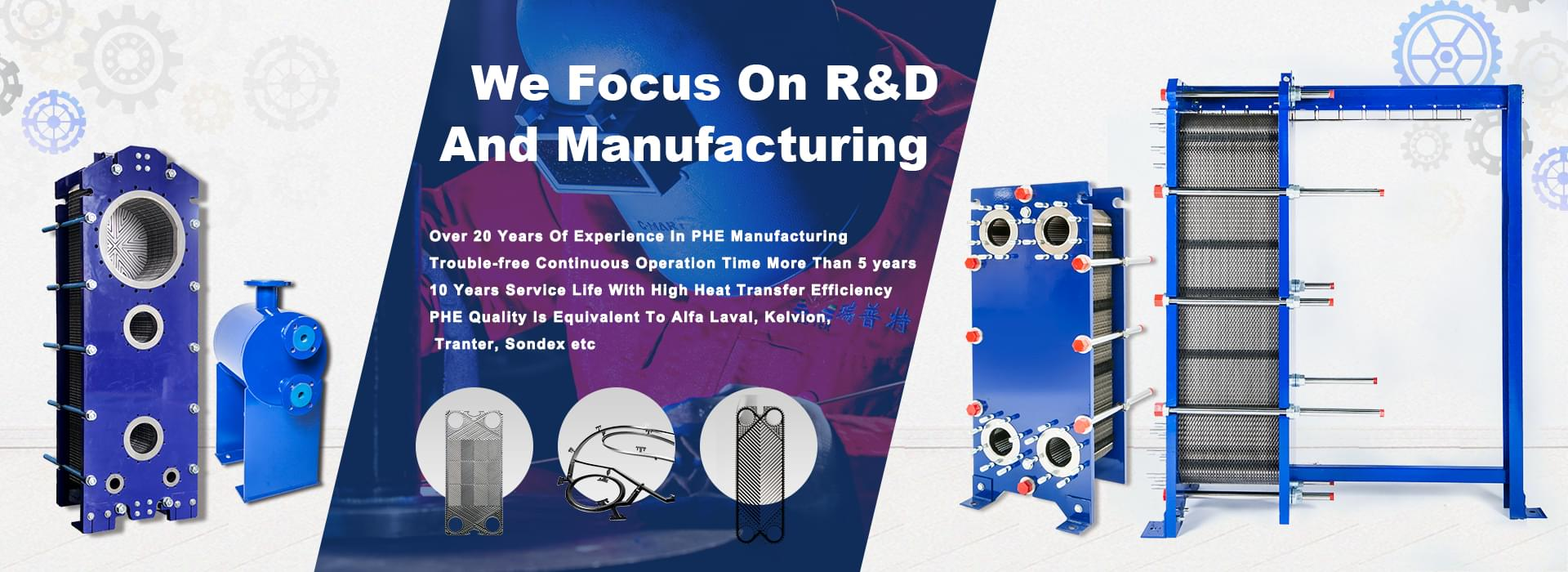 We focus on R&D and manufacturing