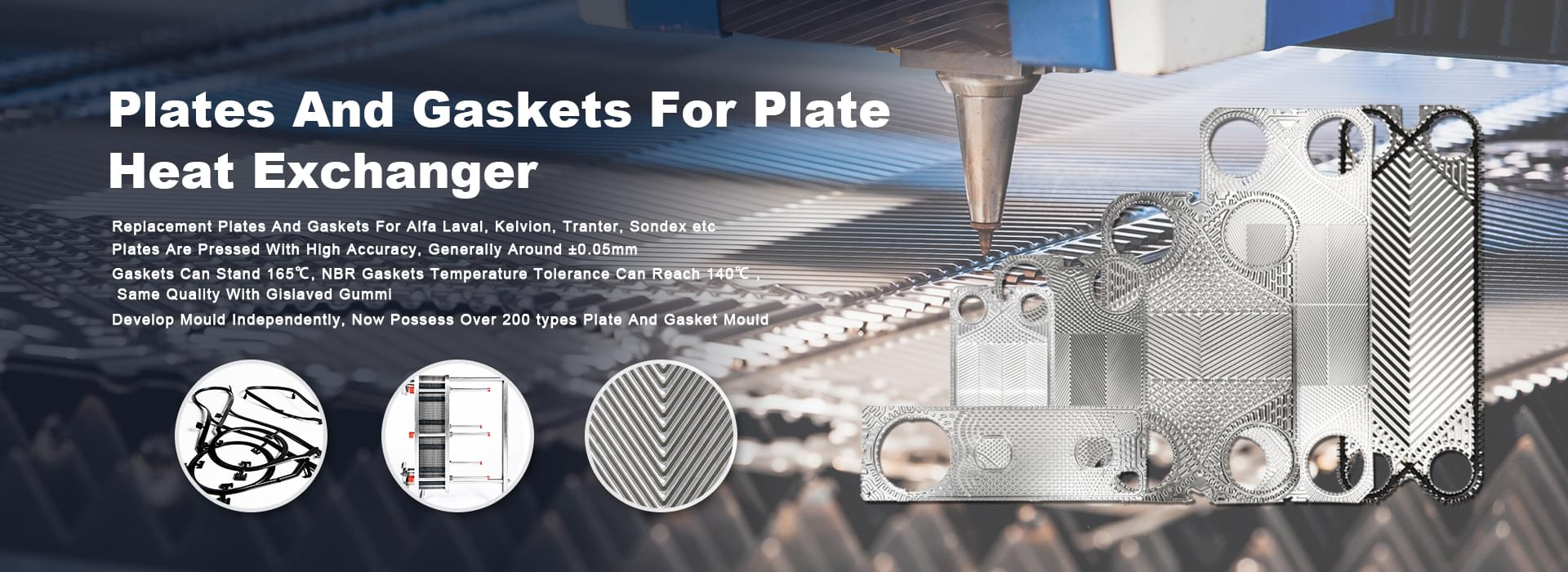 Plate for heat exchanger plate with higher accuracy