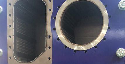 Plate evaporator